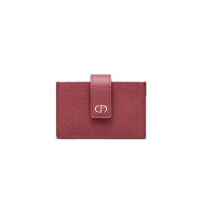 [스페셜오더]DIOR-S2058 디올 맬로우 로즈 30 MONTAIGNE 몽테뉴 아코디언 카드 지갑