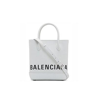 [스페셜오더]BALENCIAGA-596159 발렌시아가 화이트 빌 VILLE XXS 토트백