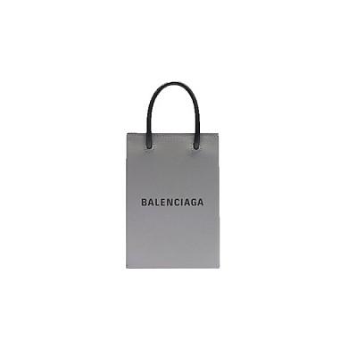 [스페셜오더]BALENCIAGA-5938260 발렌시아가 엔트러사이트 쇼핑 휴대폰 지갑 폰 홀더