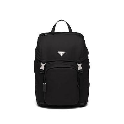 [스페셜오더]PRADA-1BD249 프라다 블랙 나일론 트라이앵글 로고 백팩