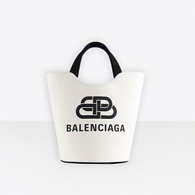 [스페셜오더]BALENCIAGA-92934 발렌시아가 내추럴 웨이브 캔버스 토트백 M