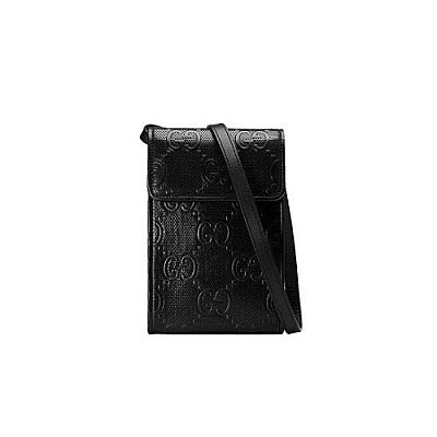 [스페셜오더]GUCCI-625571 1000 구찌 블랙 GG 엠보스 미니 크로스백