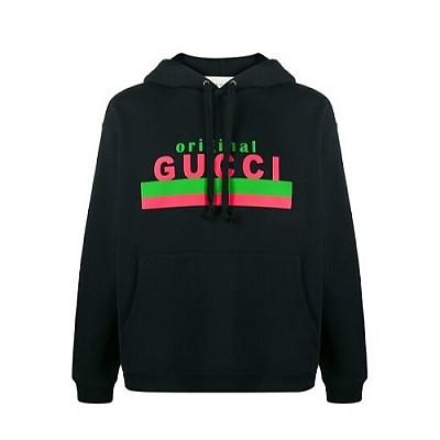 GUCCI-626989 구찌 블랙 Original Gucci 프린트 후드 여성용