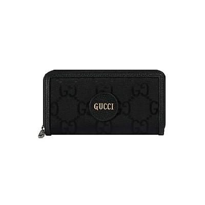 [스페셜오더]GUCCI-625576 1000 구찌 블랙 에코 GG 나일론 오프 더 그리드 지퍼 어라운드 지갑