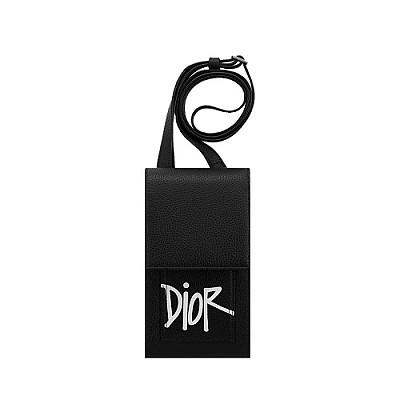 [스페셜오더]DIOR-2PUCA 크리스찬 디올 블랙 DIOR AND SHAWN 휴대폰 케이스