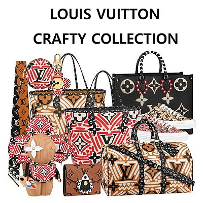 LOUIS VUITTON LV CRAFTY COLLECTION-보물나라 루이비통 #LV크래프티 컬렉션 VIEW PRODUCT ≫