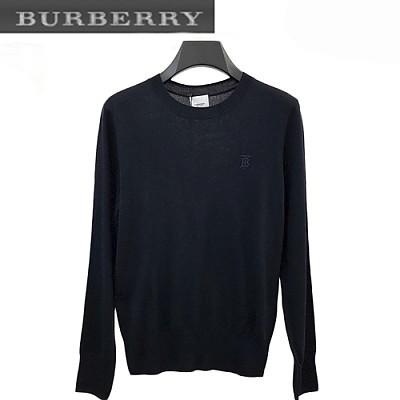 BURBERRY-08289 버버리 네이비 TB 로고 디테일 스웨터 남성용