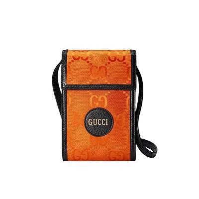 [스페셜오더]GUCCI-625599 7560 구찌 오렌지 에코 GG 나일론 오프 더 그리드 미니백