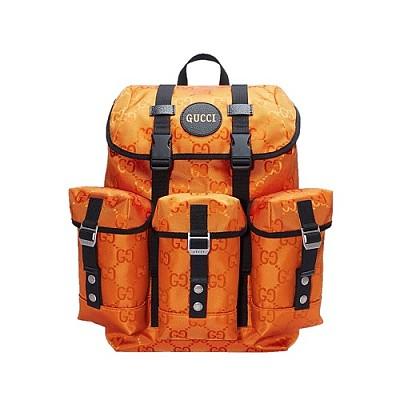[스페셜오더]GUCCI-626160 7560 구찌 오렌지 에코 GG 나일론 오프 더 그리드 백팩