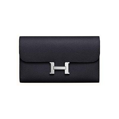 [스페셜오더]HERMES-H0761 에르메스 블랙 Constance 콘스탄스 여성 장지갑