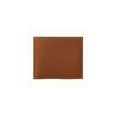 [스페셜오더]HERMES-H074711 에르메스 골드 MC² 컴팩트 월릿 남성 반지갑