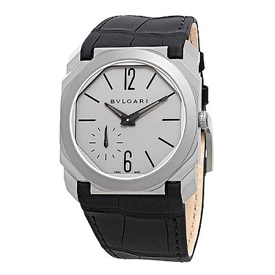 [스페셜오더]BVLGARI-불가리 옥토 피니씨모 스몰 세컨드 티타늄 블랙,그레이 시계 40mm