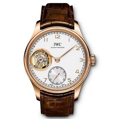 [스페셜오더]IWC-IW546302 아이더블유씨 포르투기저 투르비옹 핸드 와인드 레드 골드 시계43mm