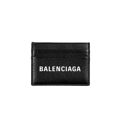 BALENCIAGA-490620 발렌시아가 블랙 에브리데이 멀티 카드 지갑
